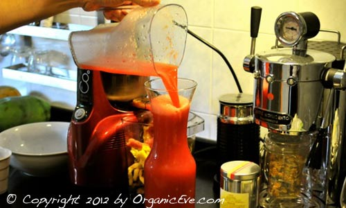 Ejuva Cleanse: Juicing continues...