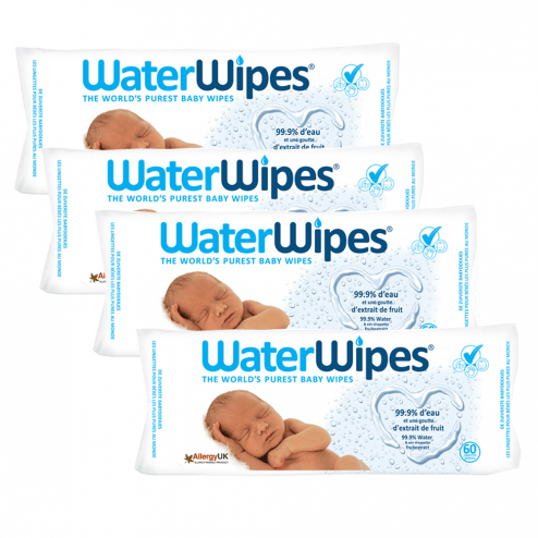 WaterWipes Baby Wipe Single Pack (60 sheets x 1 pack)