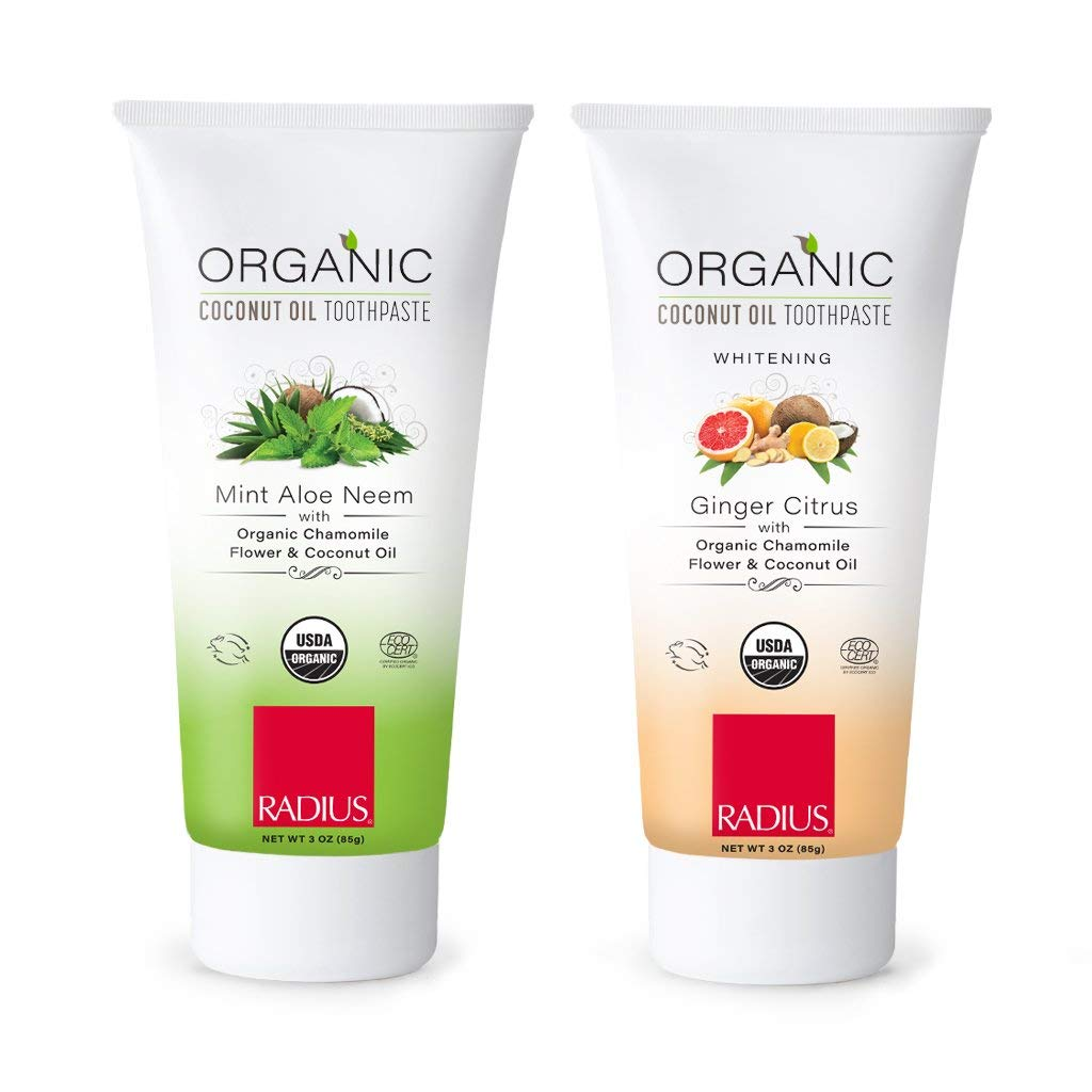 Radius Organic Coconut Oil Adult Toothpaste