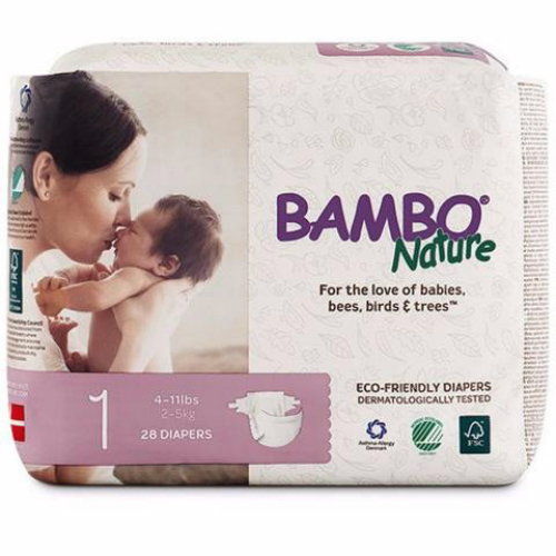 Bambo Nature Non-Toxic Diapers Carton Pack