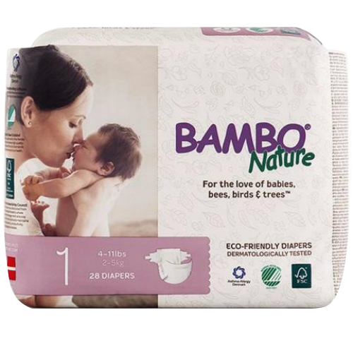 Bambo Nature Non-Toxic Diapers Single Pack