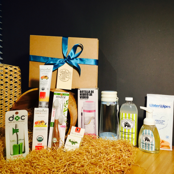 Organic Get-Well-Soon Hamper or Non-Toxic Living Hamper