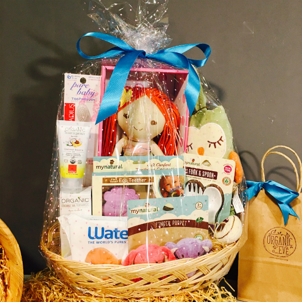 Organic Hamper for Baby (C) – Perfect for Baby Showers!