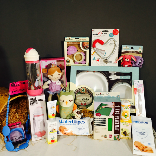 Organic & Non-Toxic Baby Hamper (D) – Perfect for Baby Showers!