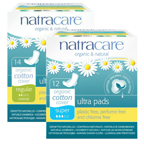 Natracare Organic Cotton Cover Ultra Pads