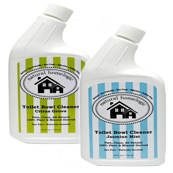 Natural Homelogic Toilet Bowl Cleaner, 24 fl oz / 710 ml