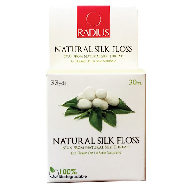 Radius Organic Silk Floss (100% Biodegradable) Pack of 6