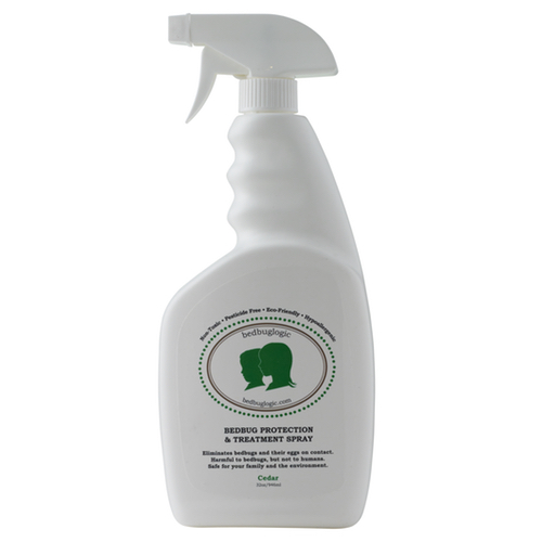 BedbugLogic Bedbug Protection & Treatment Spray – Cedar 32 oz / 946 ml