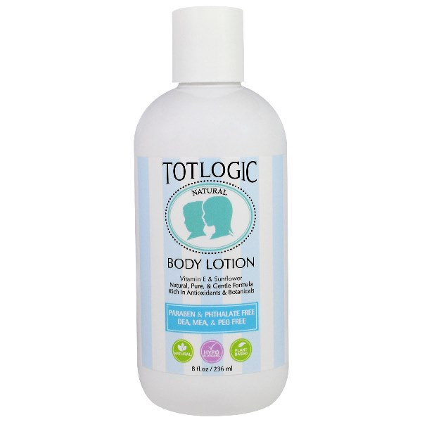 TotLogic Body Lotion 8 oz / 236 ml