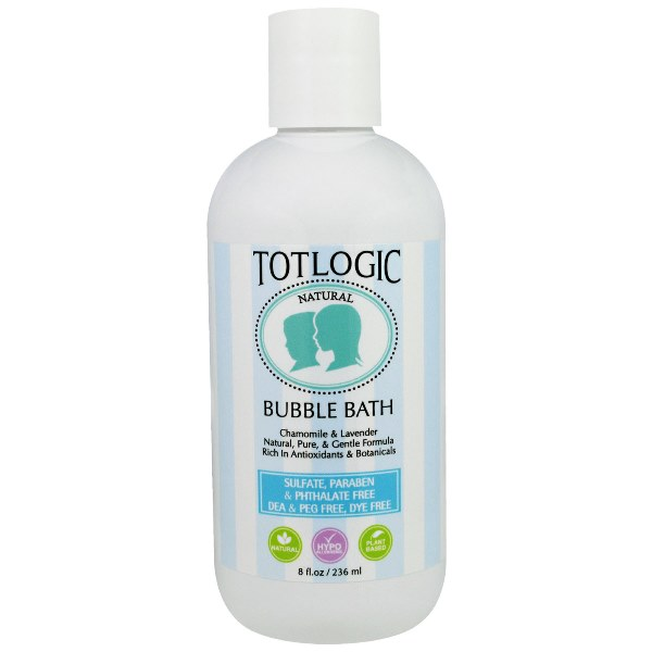 TotLogic Bubble Bath 8 oz / 236 ml