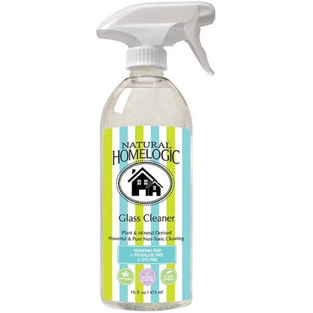 Natural HomeLogic Glass Cleaner