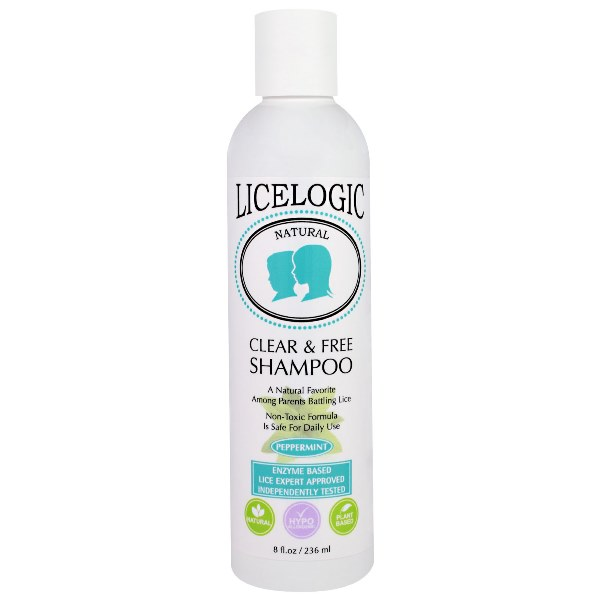 LiceLogic Clear & Free Shampoo – Peppermint, 8 fl oz / 236 ml