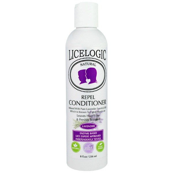 LiceLogic Repel Conditioner – Lavender, 8 fl oz / 236 ml