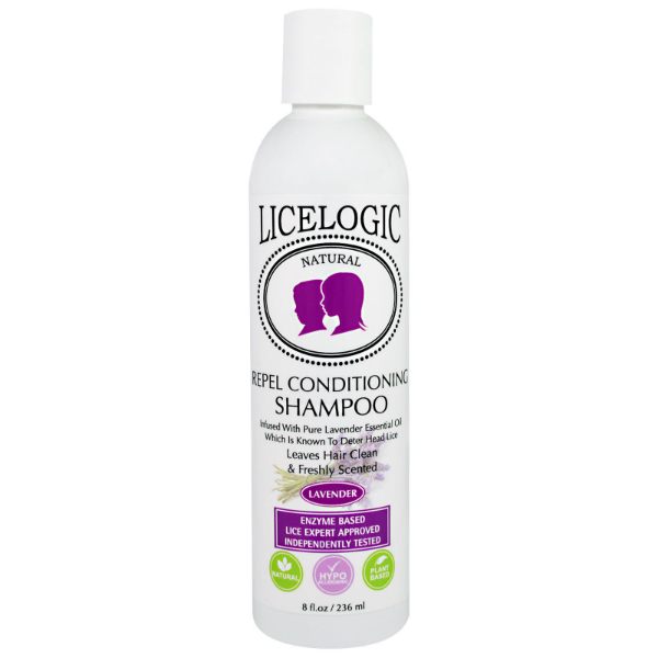 LiceLogic Repel Conditioning Shampoo – Lavender, 8 fl oz / 236 ml