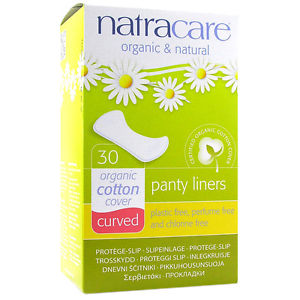 Natracare Organic Cotton Panty Liners (Curved)