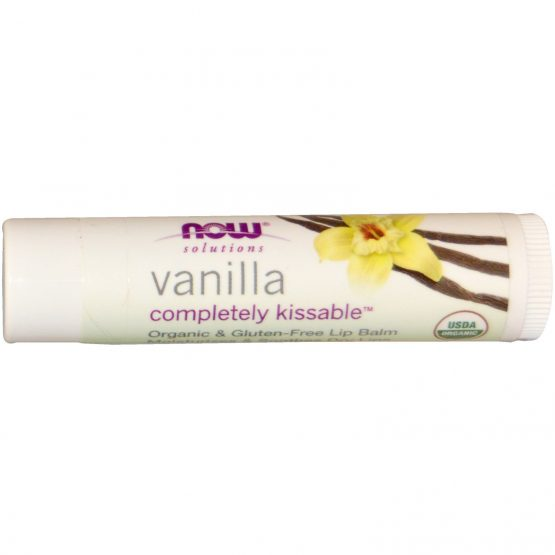 Now Foods, Solutions, Completely Kissable Lip Balm, Vanilla
