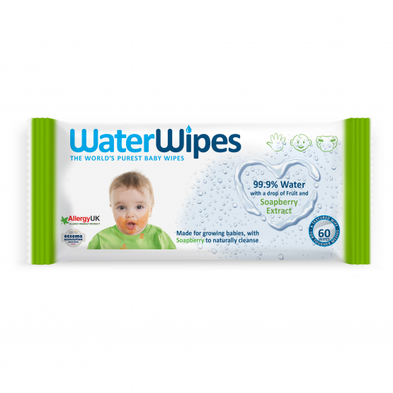 WaterWipes™ Soapberry Baby Wipes Single Pack (60 sheets x 1 pack)